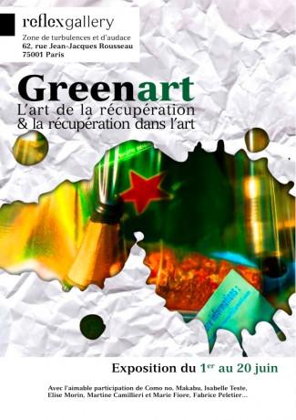 exposition Greenart à la ReflexGallery