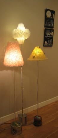 Lampes sur pied, Marie Fiore