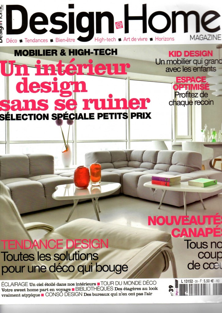 Marie Fiore, DESIGN@HOME, couverture